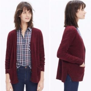 Madewell Landscape Button Front Cardigan Sweater